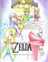 Zelda Doujinshi cover by Evomanaphy