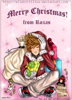 Merry Christmas from Roxas XD by mist2ri-ell