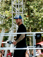 CM Punk at SS axxess by Hedgehogscanfly