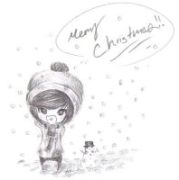 merry christmas Taemin by BlueBerry-is-cute