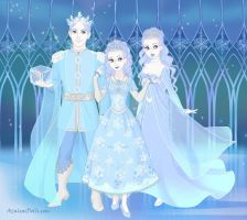 Royal Snow Family by LadyIlona1984