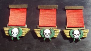 Imperial Guard Medals Close ups part 2 by DefenderHecht