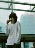 L Death Note 'I'm running out of time' by Hirako-f-w