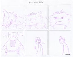Bad Hair Day Comic by Oddstuffs
