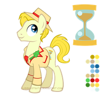 Reference Sheet: Fifth Doctor by LissyStrata