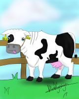 derp cow by Mayolijntje