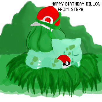 Happy birthday Dillon by TamperedDreams