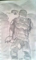 A Marine In Halo by Goggles51