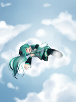 Vocaloid - Sleepin' on a cloud by RynSama