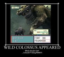 a Wild Colossus Appeared by thejoker09