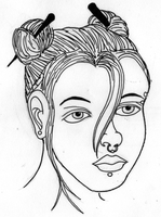 Tipical Face Inked by PHREAKuencies