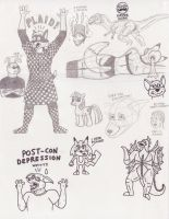 AC 2013 sketches by Rennon-the-Shaved
