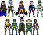 New Amalgam Comics: The Rogue's Gang by Red-Rum-18