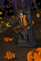 Halloween King by SkyLandWarrior