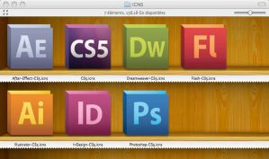 Adobe CS5 icons Official by JacKSparr0W