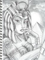 Egyptian Goddess by anubis2kx