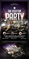 Roof Top Party flyer by saltshaker911