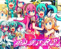 Vocaloids by Coloringful