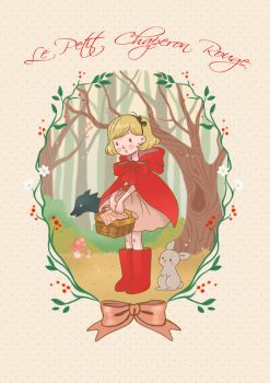 Little red riding hood by Chpi