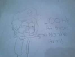 Me In Dipper Form (NODDLES) by scoutwheatley
