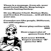 A messege from Mario and Comp by the--Z