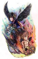 .: -Race against Time- Kid Icarus Uprising c22- :. by PrideAlchemist7