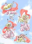 Lou-chan the Bellydancer by Inesidora