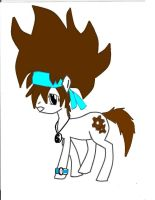 Aisican the Brony COLORED by AisicanJonJon