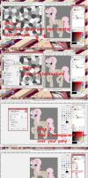 Crappy Crystal Pony Tutorial for Gimp 2.6 by bannabutt-angel-14