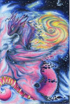 FOR SALE: Galaxy Dragon by JcArtSpace