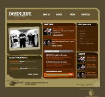 DeepCave Website by Lili2