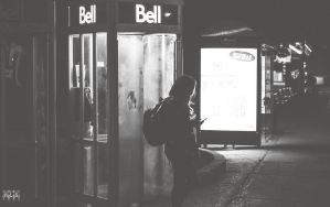 Waiting for that call by K-liss