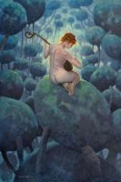 The Musician by postapocalypsia