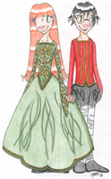 Lily and James by melodythelittlepony