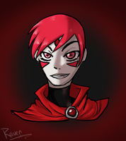 Red Raven by Hash-Tag-Swag