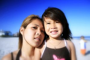 Mother and Daughter by SUNphotography