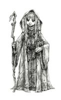 Gelfling mage by eoghankerrigan