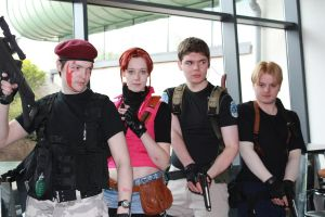 Resident Evil Group by DillyShilly