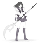 Sailor Saturn by 0theghost0
