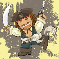 weird jack sparrow chibi by Ezia-Auditrice