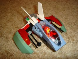 S-1 Mantis Class Starfighter by Taggerung1