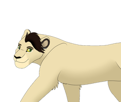 Lion King Style - Kaito (Colored) by AnimeFan4Eternity23