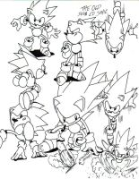 sonic cd sketch by trunks24