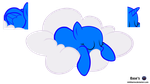 MLP Vector Base - Sleeping /Free2Use by MLPBlueRay