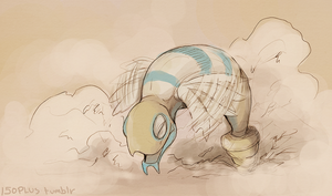 150+ project: dunsparce by edface