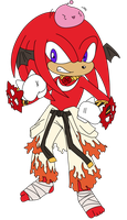 WIP_Knuckles_Shura_colors by Poronyos-II