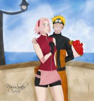 Narusaku : Date by indy-riquez
