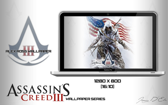 Assassin's Creed 3 Alex Ross Wallpaper by tazerguy