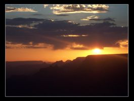 The Grand Canyon by tonyeck