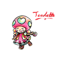 .:Toadette:. by luigipony